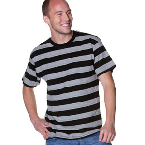 0027 Striped Man T