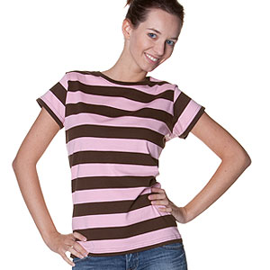 0026 Striped Girl T