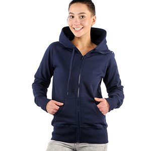0320 Riga Hooded Zip Girl