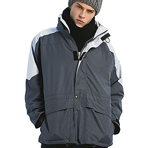 Outdoor - B C -  3 in 1-Jacke mit Fleece