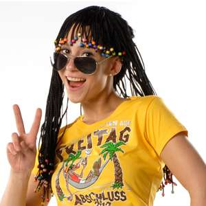 OR.30596.00 Rasta Girl Perücke